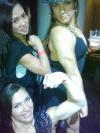 Girl with muscle - ?, Rafaela Montanaro(right), Michelle Hafner(botto