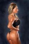 Girl with muscle - Cristiana Casoni