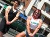 Girl with muscle - Nathalie Foreau, Maryse Manios