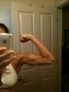 Girl with muscle - Angela Gist