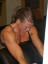 Girl with muscle - Jennifer Harris