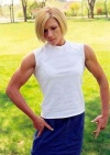 Girl with muscle - Shara Vigeant