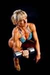 Girl with muscle - iveta