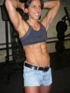 Girl with muscle - noemi szabo