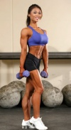 Girl with muscle - Huong Arcinas