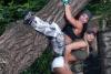 Girl with muscle - Gabriella Bankuti (up) Noemi Olah (down)