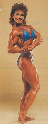 Girl with muscle - Mary Roberts