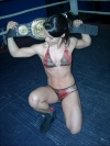 Girl with muscle - Cathy (Wrestler)