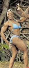 Girl with muscle - Lungi Plummer
