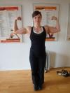 Girl with muscle - lonnie boe pedersen