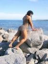 Girl with muscle - Chyna Smith aka Sandra Ramos