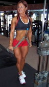Girl with muscle - melita jagic