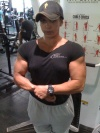 Girl with muscle - Vanessa Silvera Brun