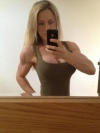 Girl with muscle - Louise rogers