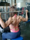 Girl with muscle - Dorota Galinska