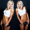 Girl with muscle - olga kulinich