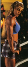 Girl with muscle - Karen Hulse