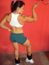 Girl with muscle - Dete Santana