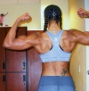 Girl with muscle - Kailash Persaud