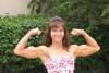 Girl with muscle - Brenda Rahe