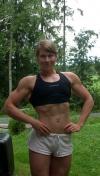 Girl with muscle - Niina Mielonen