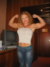 Girl with muscle - Anna Strong