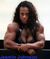 Girl with muscle - jasmin johnson