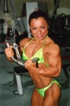 Girl with muscle - Barbara Fletcher