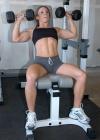 Girl with muscle - Lori George