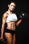 Girl with muscle - Kristen Lopez Moffett