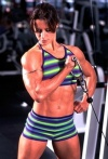 Girl with muscle - heather lackner