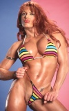 Girl with muscle - April Hunter