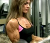 Girl with muscle - Linda Billings-Vogel