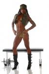 Girl with muscle - Keashia Wester