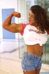 Girl with muscle - Pamela Howard