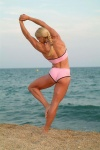 Girl with muscle - monica hoyer saur