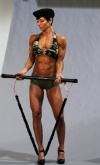 Girl with muscle - Laurie Dickson