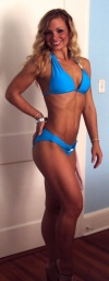 Girl with muscle - Overall physique