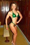 Girl with muscle - Leigh Ann Yeager
