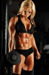 Girl with muscle - Heather Baird