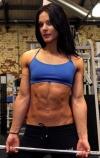 Girl with muscle - Ellena Tsatsos