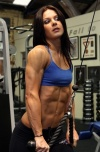 Girl with muscle - Ellena Tsatsos