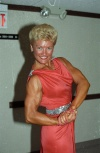 Girl with muscle - Velma Buckles
