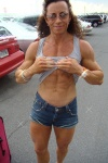 Girl with muscle - justine dohring