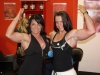 Girl with muscle - Nathalie Pellen (L) Linda Durbesson (R)