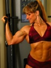 Girl with muscle - rhonda dethlefs