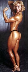 Girl with muscle - Christine Lydon