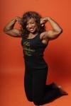 Girl with muscle - Linda Wood Hoyte