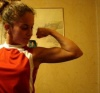 Girl with muscle - julie