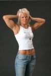 Girl with muscle - Carolina Andersson